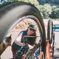 Knowing how to maintain your bike on a regular basis is crucial to a happy bike and a happy ride; ask your local bike shop if they offer any women's bike tuning clinics! Photo by Michelle Pearl Gee. - Taking Your Mountain Biking Skills to the Next Level