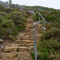 Stairs leading from the Rodeo Beach Trail to the ridge.- 10 Microadventures Near San Francisco