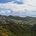 Sweeping views of the south shore of O'ahu toward Makapu'u Point from Koko Head Crater.- O'ahu's 16 Best Hikes