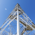 The 90-foot Stissing Fire Tower.- Hudson Valley's 12 Best Winter Adventures