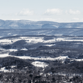 The Taconic Mountains to the east from Stissing Fire Tower. - Hudson Valley's 12 Best Winter Adventures