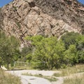 Volleyball court at storm mountain day use area.- 6 Days of Adventure in Utah's Wasatch Mountains