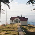 Turn Point Lighthouse is a great day hike from either Reid or Provost Harbor.- San Juan Islands