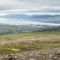 View the fjords from high above Akureyri on Sulur.- Dramatic Fjord Formations