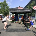 Good ol' fashioned tug-o-war at North Face.- Outdoor Project's 2017 Block Party Series