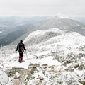 View of West Peak from Avery Peak on the Bigelows and Horn Loop. - 8 Not-To-Be Missed White Mountain Adventures