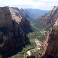 Views from Observation Point are breathtaking.- How to Explore Zion National Park in the Off-Season