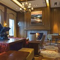 The reading room at Sun Valley Resort.- A Winter Paradise in Sun Valley, Idaho
