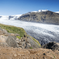 Skaftafellsjökull.- 1-Week Adventure Itinerary for Iceland