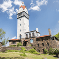 Heublein Tower in Talcott Mountain State Park stands 165 feet high.- 15 Must-Visit New England State Parks