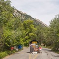 The entrance to Tanners Flat Campground.- Guide to Camping Near Salt Lake City, Utah