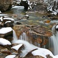 Some of the many waterfalls that dot Little Cottonwood Creek.- 26 Amazing Snowshoe-to-Waterfall Adventures