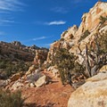 The trail to Cassidy Arch leads through some truly impressive scenery.- Cassidy Arch