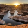 Sunrise at Reflection Canyon, Grand Staircase - Escalante National Monument.- 10 National Monuments on the Chopping Block