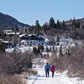 The Woods Trails crisscross through some beautiful neighborhoods.- Salt Lake City Inversion Survival Kit