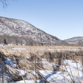 Thompson Pond: Looking northwest across the pond.- Hudson Valley's 8 Best Snowshoe Adventures