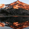 South Sister from Green Lakes.- Oregon's 75 Best Day Hikes