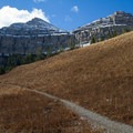 On the trail to Mount Timpanogos near Hidden Lakes.- OP Adventure Review December 28-31, 2015