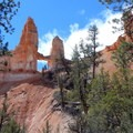 Tower Bridge as seen from the trailside viewpoint on the Fairyland Loop, Bryce Canyon National Park.- The Ultimate Utah National Parks Road Trip