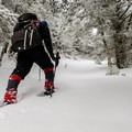 Digging into a snowshoeing adventure.- 12 Months of Adventure: January - Snowventures