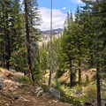 Trail views on the way to Jordan Hot Springs.- Jordan Hot Springs via Blackrock Trailhead