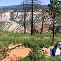 Trans-Zion Trek, Zion National Park.- 70 Breathtaking Backcountry Campsites