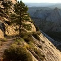 Long downhill on the Trans-Zion Trek, Zion National Park.- 100 Incredible Adventures in Our National Parks