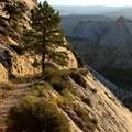 Long downhill on the Trans-Zion Trek, Zion National Park.- Our Public Lands: National Parks