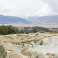 Travertine Hot Springs is very popular, and visitors should expect to share a pool.- Hot Springs Near Reno and Lake Tahoe