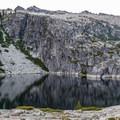 Upper Canyon Creek Lake in late June.- Canyon Creek Lakes