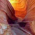 The erosion lines at the Wave follow the directions of the predominate winds.- Bureau of Land Management