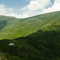 Galehead Hut from South Twin Mountain.- Incredible Adventures in New Hampshire's White Mountain National Forest