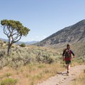Large views in the Gardner Canyon.- 15 Backcountry Hikes in Yellowstone National Park