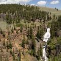 Undine Falls.- Yellowstone National Park