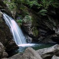 Bingham Falls from the lower viewpoint.- 3-Day Adventure Itinerary in Stowe, Vermont