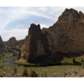Smith Rock State Park Panorama.- 30 Must-Do Adventures in Oregon