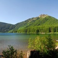 Walupt Lake from Walupt Lake Campground.- A Guide To Camping in Washington