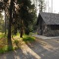 Restroom facilities at Lost Creek.- Camping Near Crater Lake National Park
