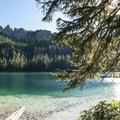 Clear waters at Granite Lake and Sawtooth Ridge near Mount Rainier.- Washington's 50 Best Swimming Holes