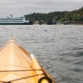The Tahlequah Ferry approaches the dock on the southern end of Vashon Island.- Adventure in the City: Seattle