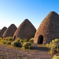 The ovens inside Ward Charcoal Ovens State Historic Park, remain in great condition.- Adventuring across Nevada's Highway 50