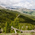 Views from Dunraven Pass.- Mount Washburn via Dunraven Pass