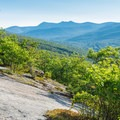 One of the many viewpoints on the Welch-Dickey Loop.- Incredible Adventures in New Hampshire's White Mountain National Forest