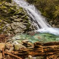The pool at the bottom of Whiskeytown Falls.- The West's 100 Best Waterfalls