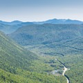 View from Mount Willard.- Best New Hampshire Towns for Family Adventure