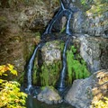 Sitting Lady Falls at Witty's Lagoon.- Victoria B.C.'s Best Adventures