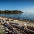 The beach at Witty's Lagoon.- Victoria B.C.'s Best Adventures