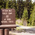 Fifteen Mile Campground.- Less Traveled Adventures Around Mount Hood