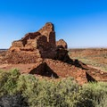 Pueblo ruin in Wupatki National Monument.- 10 Must-do Adventures near Flagstaff, Arizona