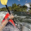 Splashing into Barking Dog on the South Fork of the American River.- Whitewater 101: How to Prepare for a Day on the River
